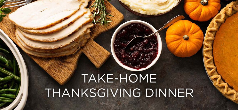 Take-home thanksgiving dinner